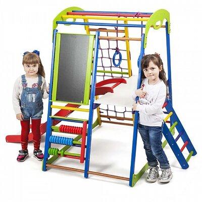 Детский спортивный комплекс для дома SportWood Plus 3 производства SportBaby - главное фото