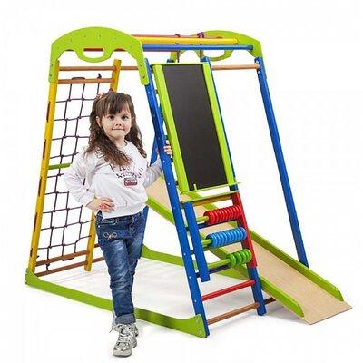 Детский спортивный комплекс для дома SportWood Plus производства SportBaby - главное фото