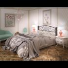 Двуспальная металлическая кровать Астра