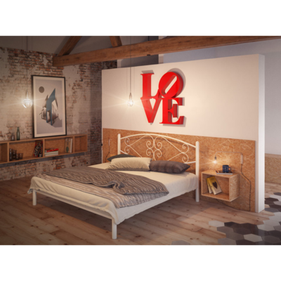 Двуспальная кровать Камелия производства Tenero - главное фото