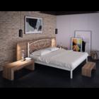 Двуспальная кровать Карисса