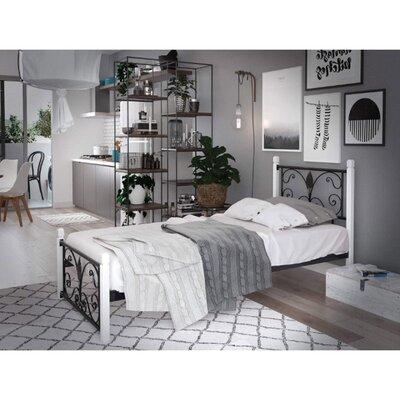 Подростковая кровать Крокус на деревянных ногах производства Tenero - главное фото