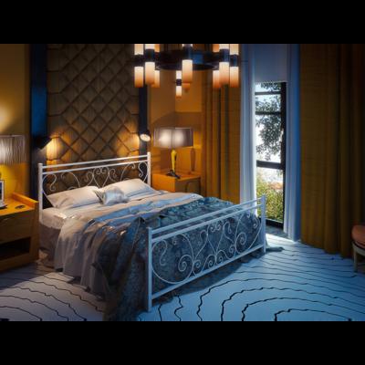 Двуспальная кровать Монстера