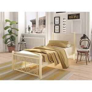 Подростковая кровать Нарцисс на деревянных ногах