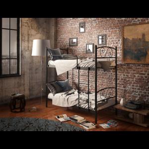 Двухъярусная металлическая кровать Виола