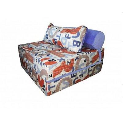 Бескаркасное кресло-кровать 100-100-90 см производства TIA-SPORT - главное фото