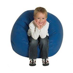 Кресло-мяч синий