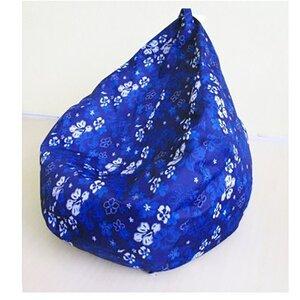 Кресло груша Оксфорд Синие цветы