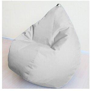Кресло груша Оксфорд Серый