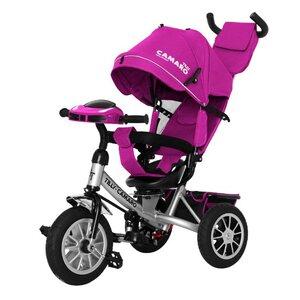 Трехколесный велосипед TILLY CAMARO T-362/2 фиолетовый
