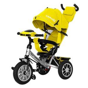 Трехколесный велосипед TILLY CAMARO T-362/2 желтый