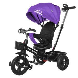 Трехколесный велосипед TILLY CANYON T-384 фиолетовый