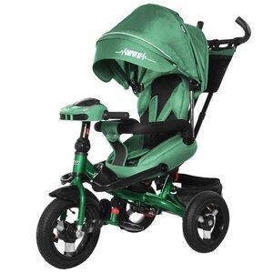 Трехколесный велосипед TILLY Impulse с пультом и усиленной рамой T-386/1 зеленый