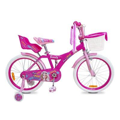 """Двухколесный велосипед Beauty Barbie 18"""" производства Azimut - главное фото"""