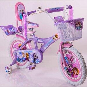 """Двухколесный велосипед Frosen Холодное сердце 14"""""""