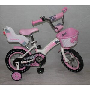 """Двухколесный велосипед Crosser Kids Bike 14"""""""