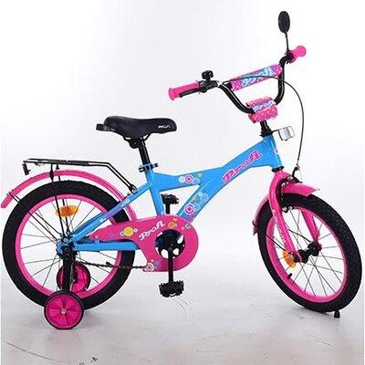 """Двухколесный велосипед Profi Original Girl 14"""" все цвета"""