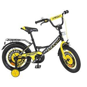 """Двухколесный велосипед Profi Original boy 18"""" желтый,красный"""
