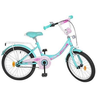 """Двухколесный велосипед Profi Princess 14"""" розовый,бирюзовый"""