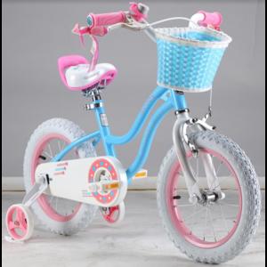 """Двухколесный велосипед Royal Baby 16"""" Stargirl красный,голубой"""