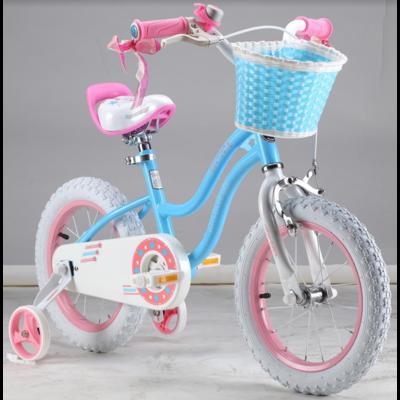 """Двухколесный велосипед Royal Baby 12"""" Stargirl красный,голубой"""