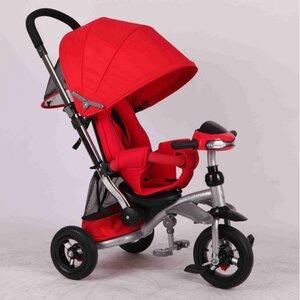 Трехколесный велосипед Azimut Crosser T-350 красный