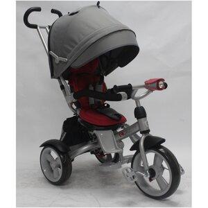 Трехколесный велосипед Crosser Т503 серо-красный