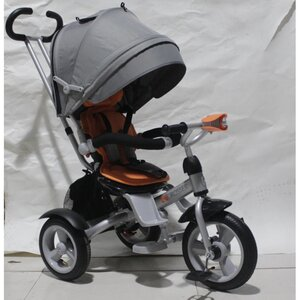 Трехколесный велосипед Crosser T503-Air серо-оранжевый