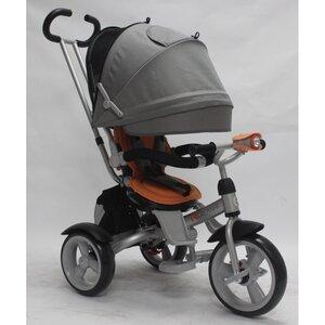 Трехколесный велосипед Crosser Т503 серо-оранжевый