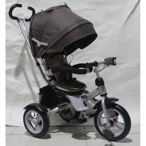 Трехколесный велосипед Crosser T503-Air шоколадный