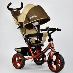 Трехколесный велосипед Best Trike 5700 (бежевый (3320) с поворотным сиденьем)