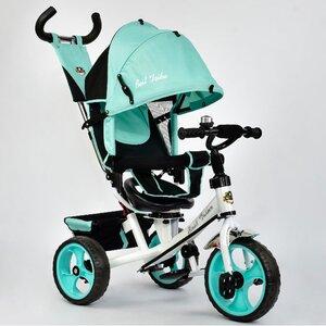 Трехколесный велосипед Best Trike 5700 (бирюзовый (3210) с поворотным сиденьем