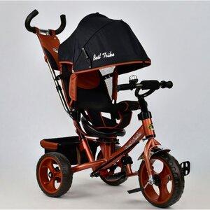 Трехколесный велосипед Best Trike 5700 (бронзовый (4340) с поворотным сиденьем
