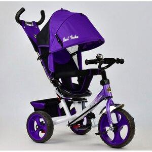 Трехколесный велосипед Best Trike 5700 (фиолетовый (4010, бел рама) с поворотным сиденьем