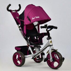 Трехколесный велосипед Best Trike 5700 (фиолетовый (4450, стальная рама) с поворотным сиденьем