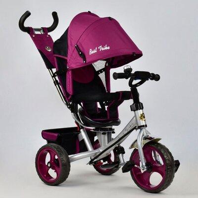 Трехколесный велосипед Best Trike 5700 (фиолетовый (4450, стальная рама) с поворотным сиденьем производства Best Trike - главное фото