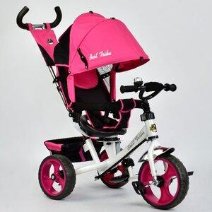 Трехколесный велосипед Best Trike 5700 (розовый (3980) с поворотным сиденьем