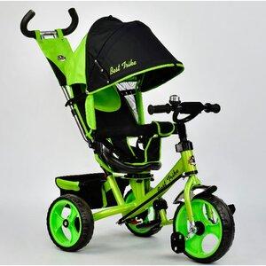 Трехколесный велосипед Best Trike 5700 (салатовый (4120) с поворотным сиденьем