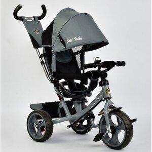 Трехколесный велосипед Best Trike 5700 (темно-серый (3430) с поворотным сиденьем
