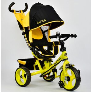 Трехколесный велосипед Best Trike 5700 (желтый (4890) с поворотным сиденьем