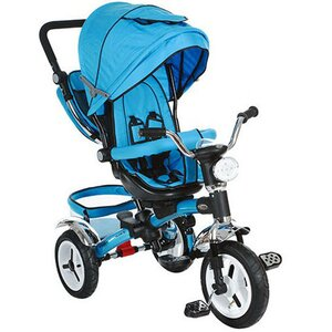 Трехколесный велосипед Turbo Trike М 3199 голубой