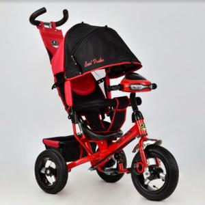 Трехколесный велосипед Best Trike 6588В надувка,красный