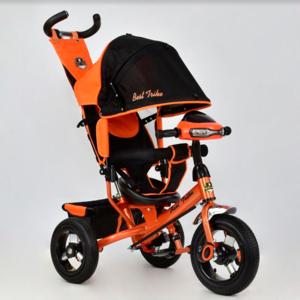 Трехколесный велосипед Best Trike 6588В надувка,оранжевый