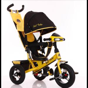 Трехколесный велосипед Best Trike 6588В надувка,желтый