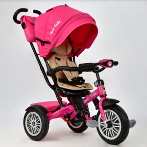 Трехколесный велосипед Best Trike 6188 розовый