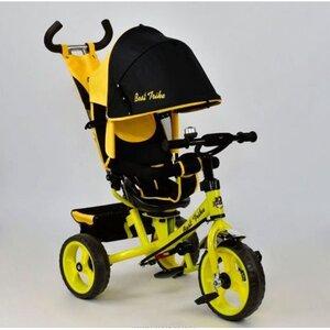 Трехколесный велосипед Best Trike 6570 желтый