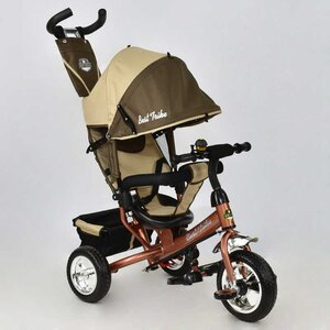 Трехколесный велосипед Best Trike 6588 пена (0230 шоколадно-бежевый)
