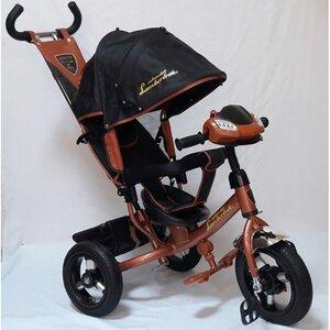 Трехколесный велосипед  Lambotrike Azimut коричневый