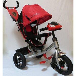 Трехколесный велосипед  Lambotrike Azimut красный