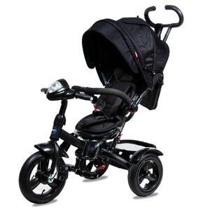 Трехколесный велосипед Neo 4 Air надувные колеса черный